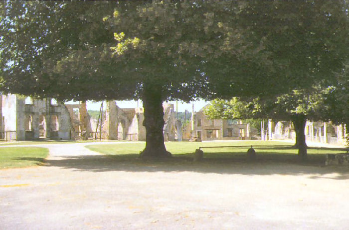 The Champ de Foire at Oradour-sur-Glane