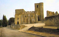 The ruined church of Oradour-sur-Glane